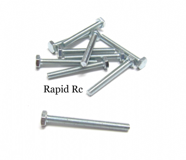 M3 x 30mm Hex Head High Tensile Hex Bolts